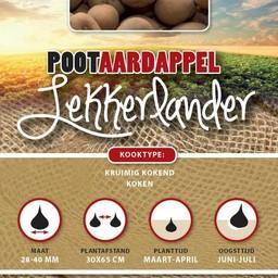 Pootaardappel Lekkerlander 1 Kg