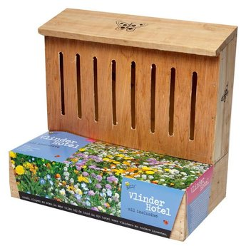Moestuinplant Vlinder Hotel Nestkast + Kweekpotjes