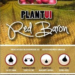 Moestuinplant Plantui Red Baron 250 Gram