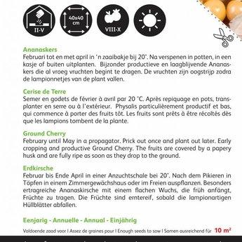 Moestuinplant Ananaskers zaden