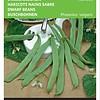 Moestuinplant Stamsnijbonen