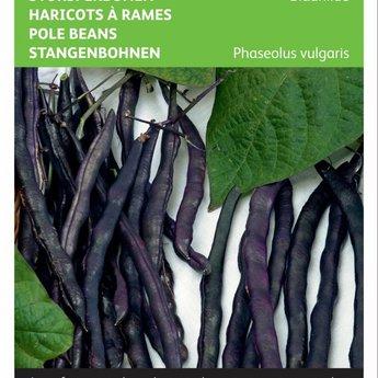 Moestuinplant Stokspekbonen Blauhilde zaden