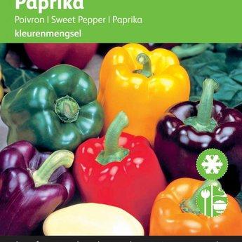 Paprika 5 Kleurenmengsel zaden