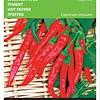 Moestuinplant Spaanse Peper Cayenne