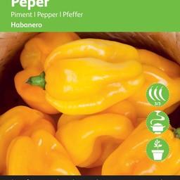 Moestuinplant Peper Habanero