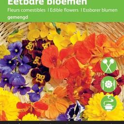 Moestuinplant Eetbare bloemen zaden