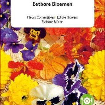Moestuinplant Friendly Flowers Eetbare bloemen 15m²