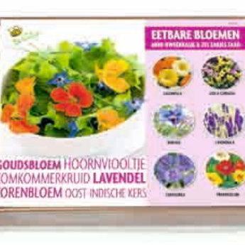 Complete Mini Kweekset Eetbare Bloemen