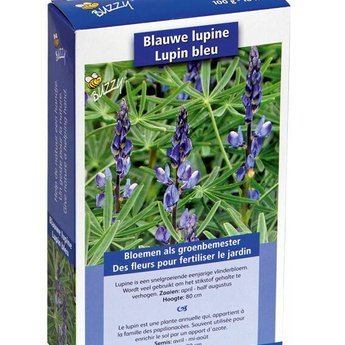 Moestuinplant Groenbemester Lupine Blauwe Bittere 100 Gram