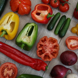 Moestuinplant Mixpakket peper en paprika (9 planten)