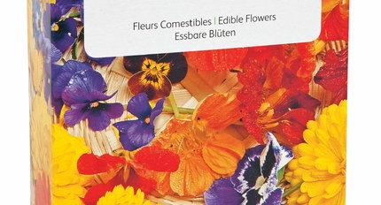 Eetbare bloemenzaden