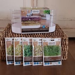Moestuinplant Cadeaupakket ''sprouting''