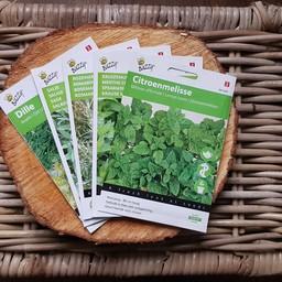 Moestuinplant Cadeaupakket ''kruiden moestuin''