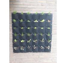Verticale tuin met 36 vakken