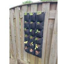 Verticale tuin met 18 vakken