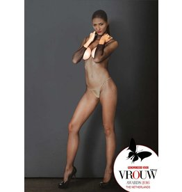 KIИK Hooded bodystocking