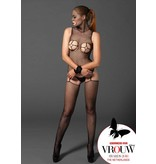 KIИK Masked bodystocking