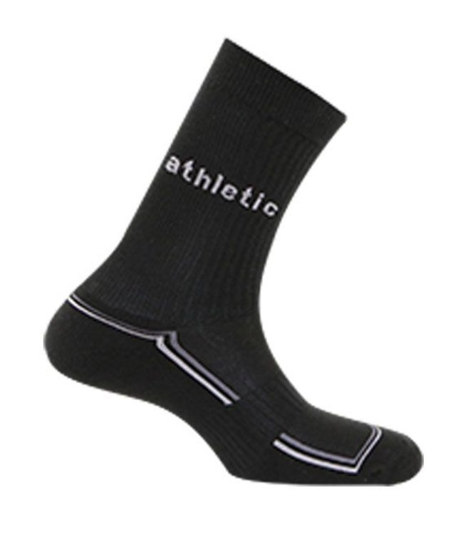 Athletic Sportsok van katoen zwart of wit