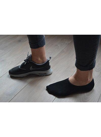 Teckel Onzichtbare sneakersok met anti slip op hiel