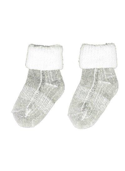 Merino wol Baby sokjes met merino wol gevoerd