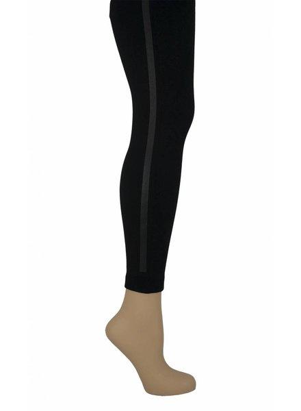 Marianne Sportieve legging met zwarte streep