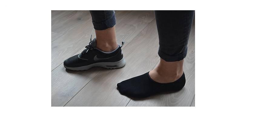 Sneakersokken met siliconen rand | Nooit meer afzakkende sokken