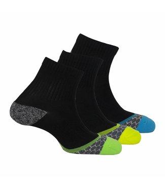 Xtreme sockswear 3 Paar hardloopsokken heren Xtreme