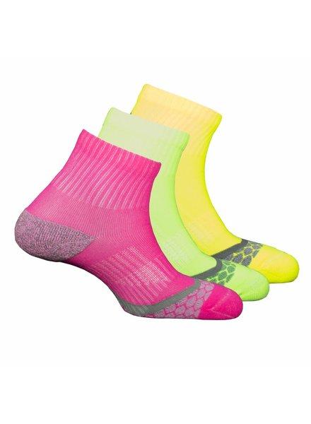 Xtreme sockswear 3 Paar hardloopsokken dames Xtreme