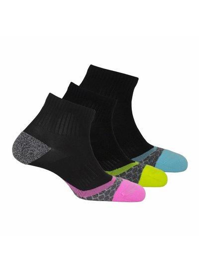 Xtreme sockswear Dames hardloopsokkken 3 paar Xtreme