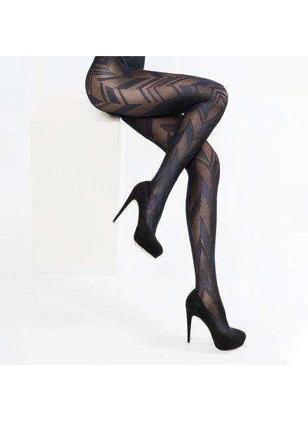 Marcmarcs Marcmarcs panty fashion taupe zwart