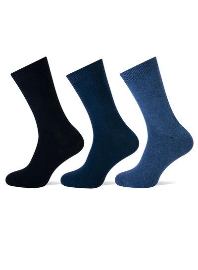 Teckel Teckel katoenen sokken 3 paar naadloos