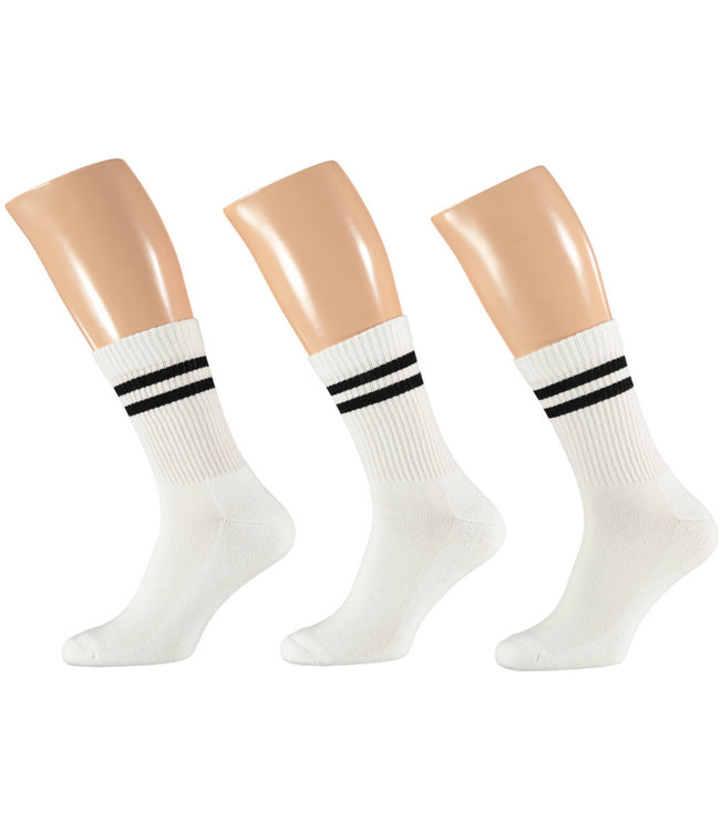 Apollo Sportsokken met hippe strepen