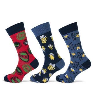 Teckel Bier sokken voor heren