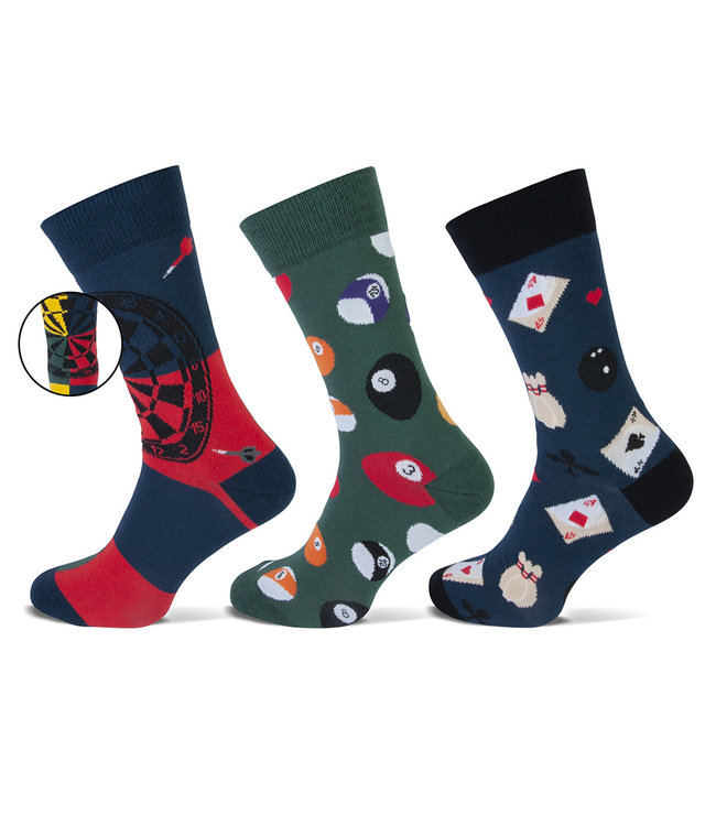Teckel Vrolijke heren sokken kroegsporten gemaakt van katoen en volledig naadloos