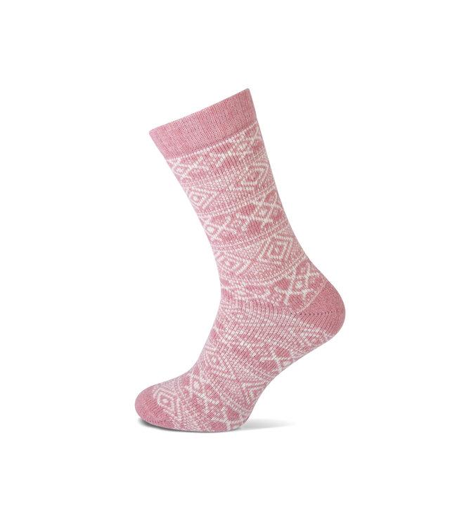 Teckel Wollen sokken met noors motief