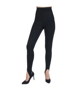 Marcmarcs Luxe legging met voetband en steekzakken