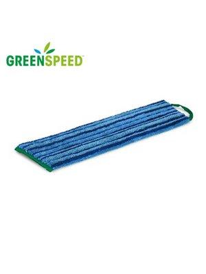 Microvezel vlakmop Blauw  met schrobeffect