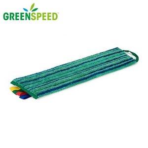 Scrubmop Velcro Groen,  extra schrobeffect
