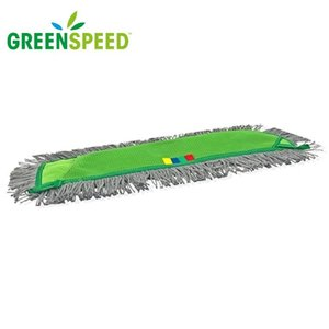 Greenspeed Click'm Allround vlakmop voor stofwissen en vochtig dweilen