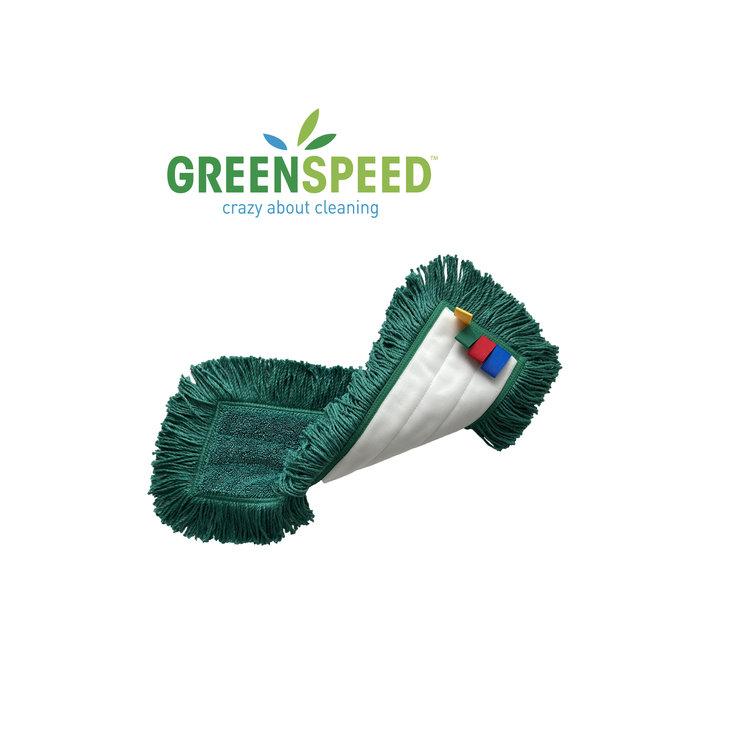 Twistmop Velcro Extra:  vlakmop voor alle harde vloeren
