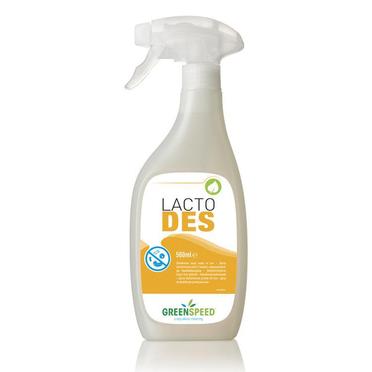 Greenspeed Lacto Des. Kant-en-klaar desinfectiespray.