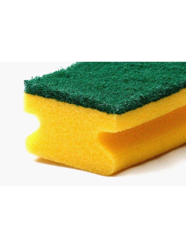 Schuurspons groen (5 of 10 stuks)