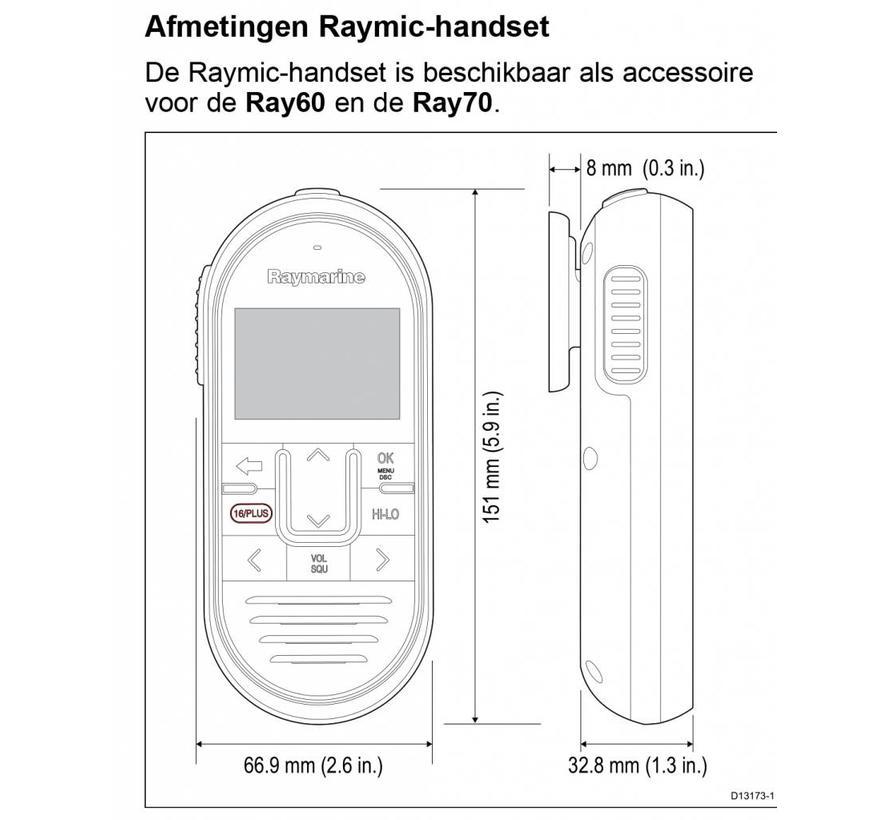 Raymic handset