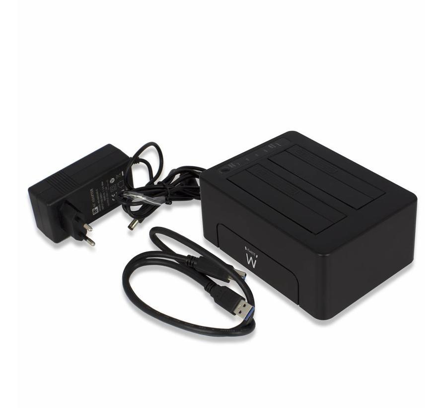 Dual Docking Station USB voor 2.5 en 3.5 SATA HDD/SSD