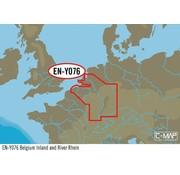 C-Map België binnenland en de Rijn