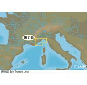 C-Map Saint Tropez tot Lerici