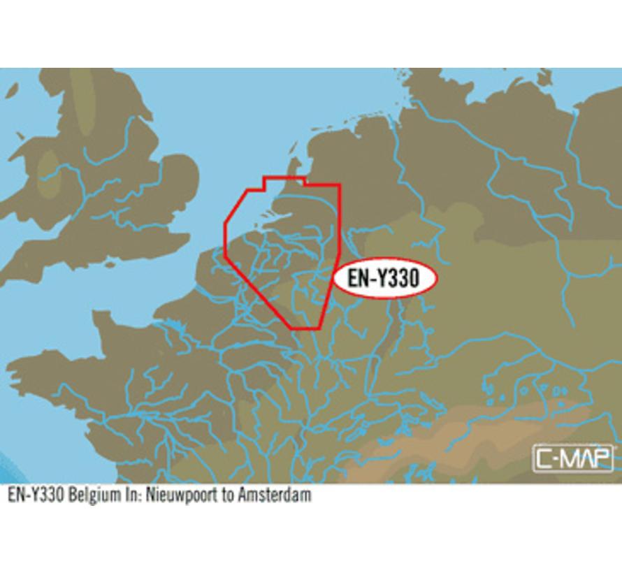 België-Nieuwpoort tot Amsterdam EN-Y330