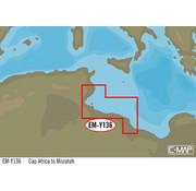 C-Map Cap Africa tot Misratah