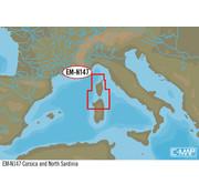 C-Map Corsica en Noord-Sardinië