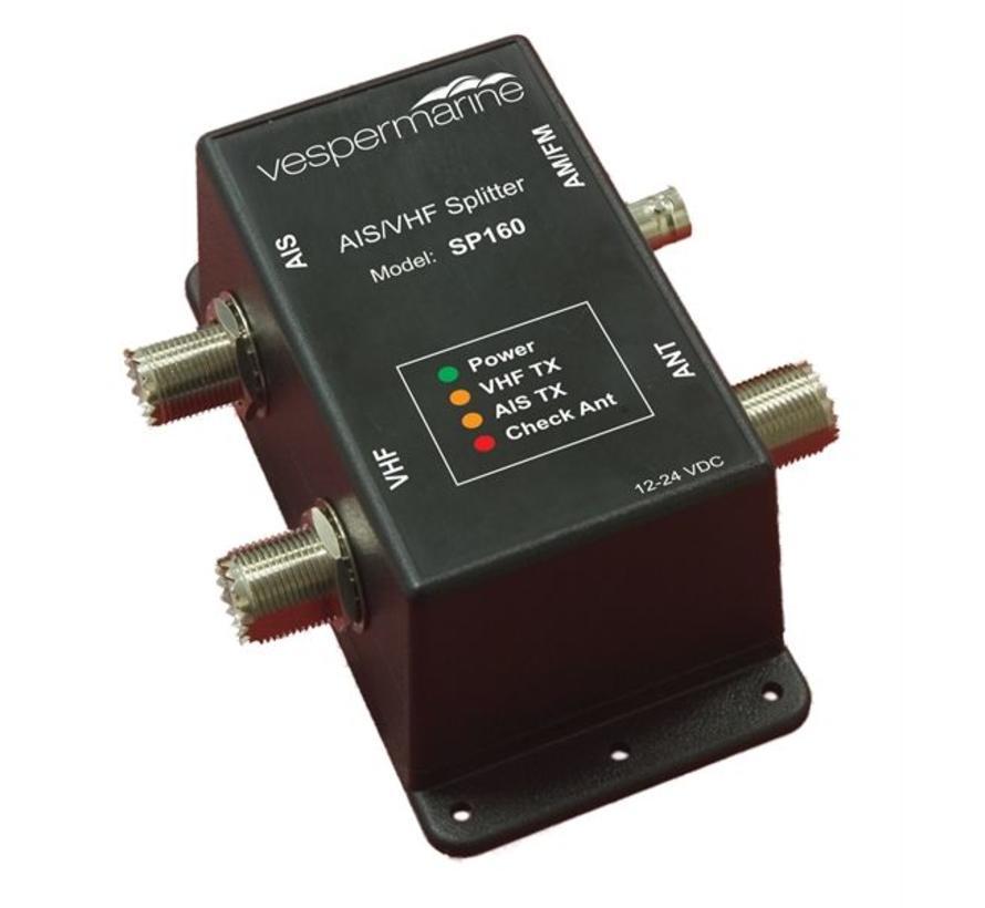 SP160 AIS antenne splitter